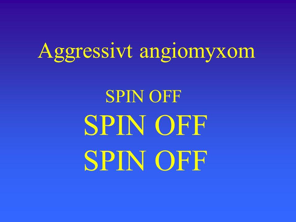 SPIN OFF SPIN OFF SPIN OFF Aggressivt angiomyxom