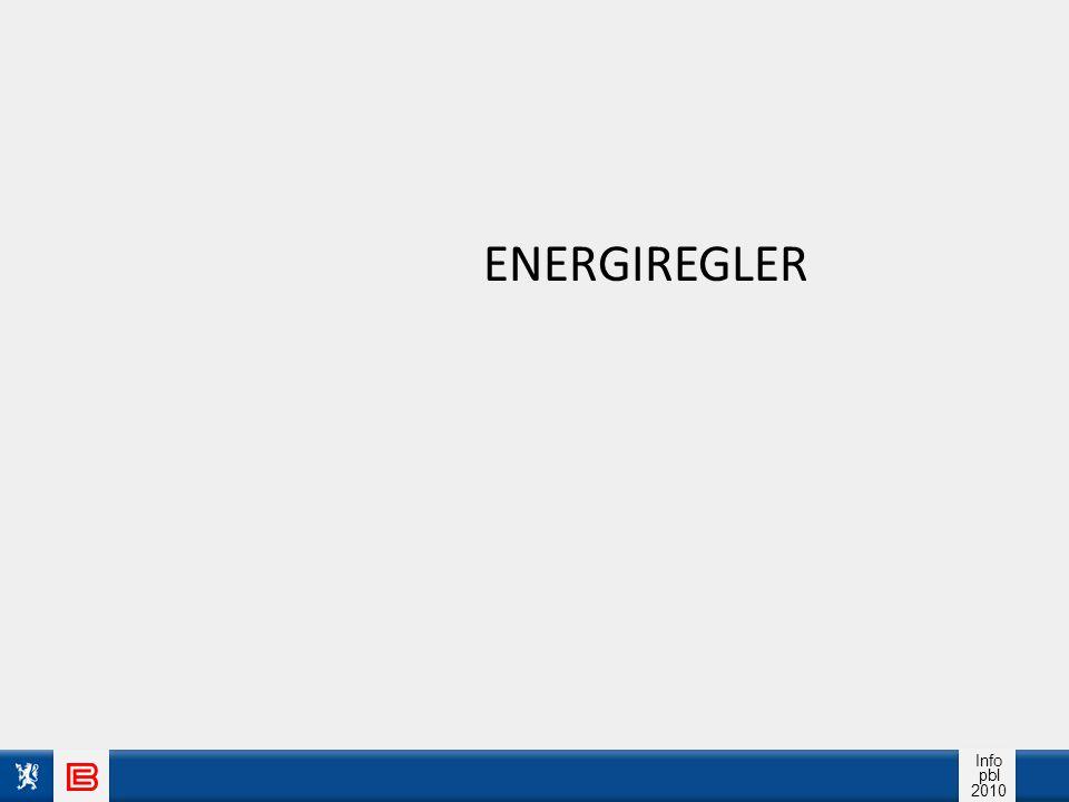 Info pbl 2010 ENERGIBRUK store utslipp mange miljøpåvirkninger utarming av essensielle ressurser ( knapphetsressurser )
