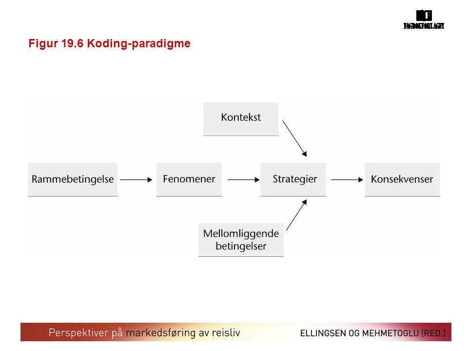 Figur 19.6 Koding-paradigme