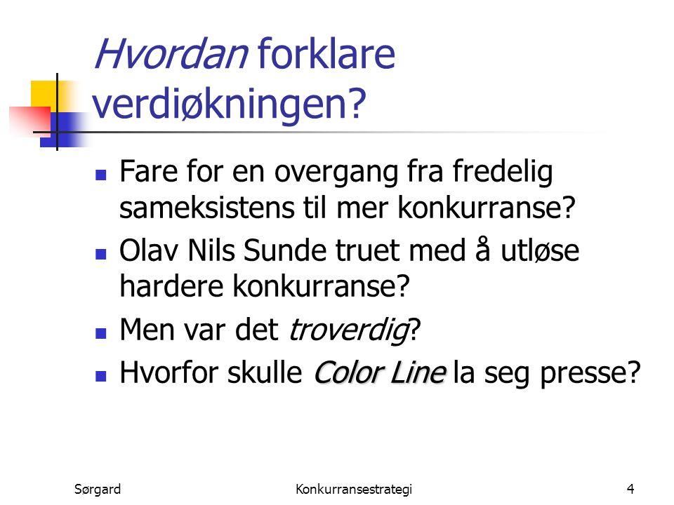 SørgardKonkurransestrategi15..eller et naturlig utfall.