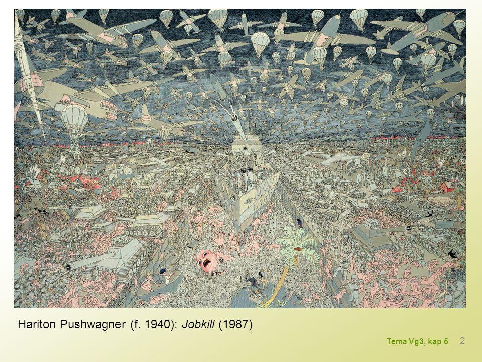Hariton Pushwagner (f. 1940): Jobkill (1987) 2 Tema Vg3, kap 5