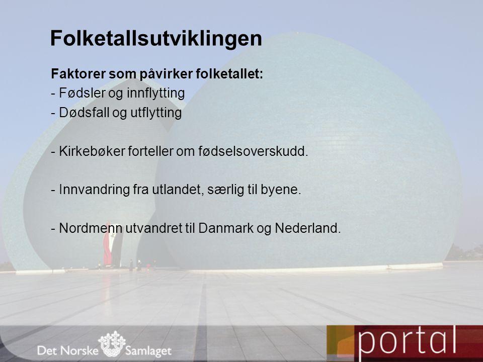 Jordbruket som hovednæring - Svært lite dyrkingsjord i Norge.