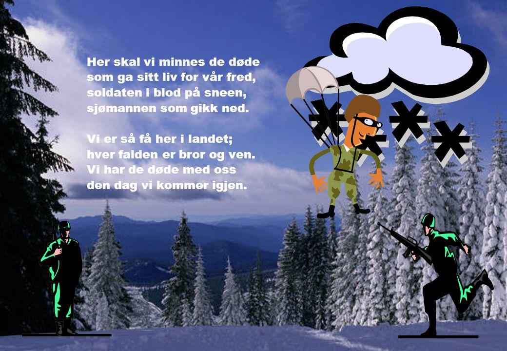 Nå slåss vi for rett til å puste vi vet det må demre en dag da nordmenn forenes i samme befriede åndedrag. Vi skiltes fra våre sydpå, fra bleke utslit