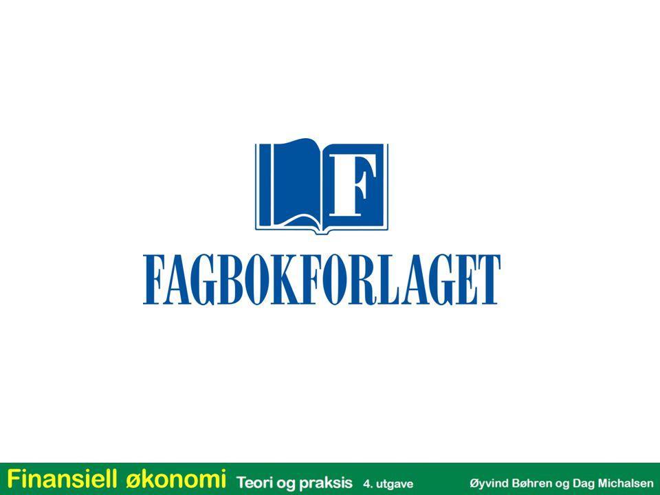 Kapittel 7: Gjeldsgrad og verdi i perfekte kapitalmarkeder