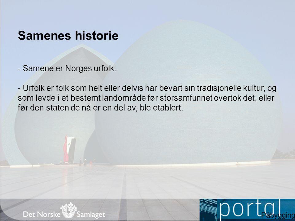 Samer og nordmenn - Vikingtid og middelalder.- Samer og nordmenn levde separate liv i Nord-Norge.