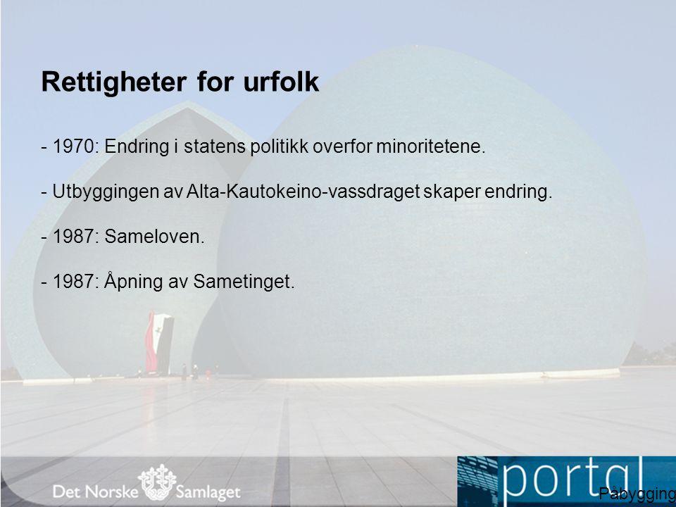 Innvandring - Norge trengte arbeidskraft og ønsket innvandrere velkommen.