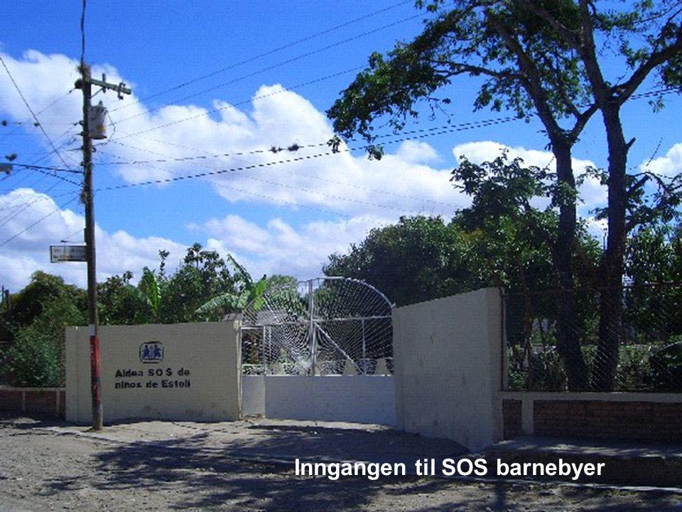 Inngangen til SOS barnebyer