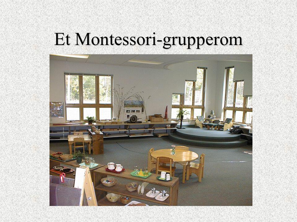 Et Montessori-grupperom
