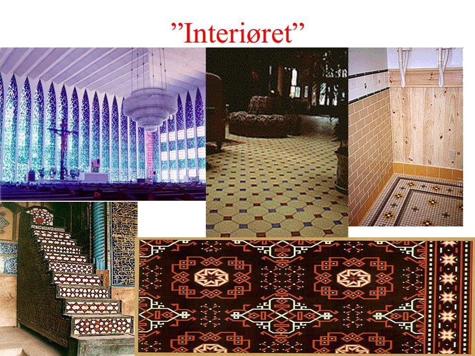 Arbeid med interiøret handler om mye mer enn geometri, men den vil likevel være i fokus her.