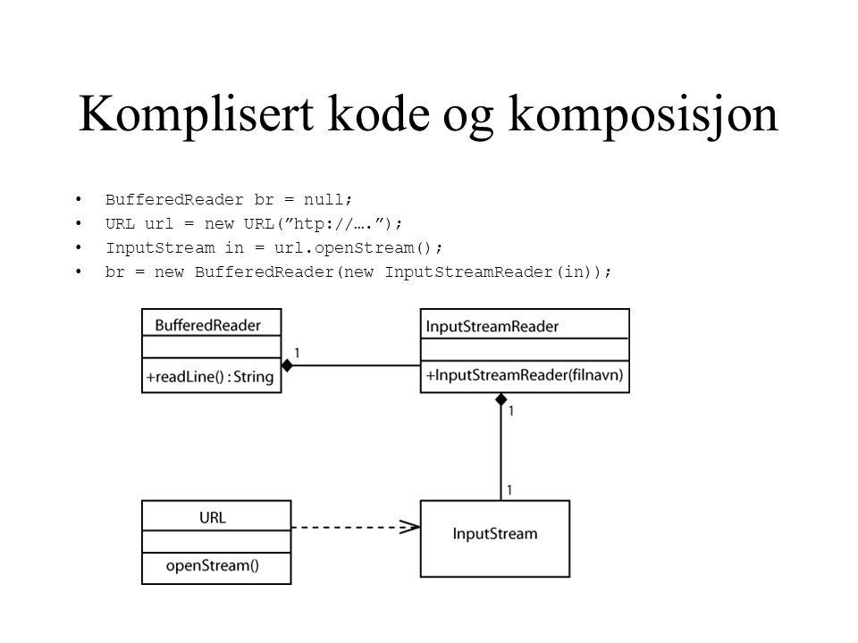 Komposisjon i nettverk lagrer MS vevsider med komposisjon?