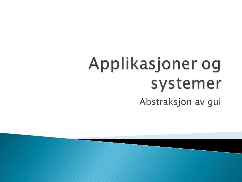  Cooper (ajax) bruker uttrykkene transient og sovereign applications.