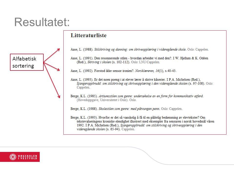 Case 4 (løsning 2): Hvilke masteroppgaver omhandler elevtekster.