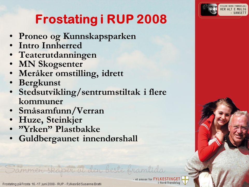 Frostating på Frosta 16.-17.