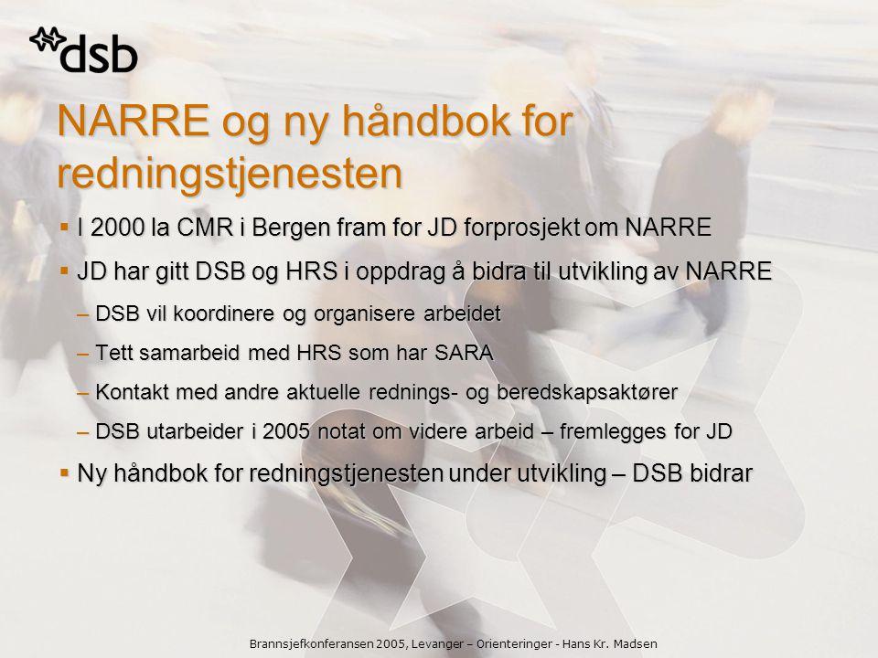 Brannsjefkonferansen 2005, Levanger – Orienteringer - Hans Kr.