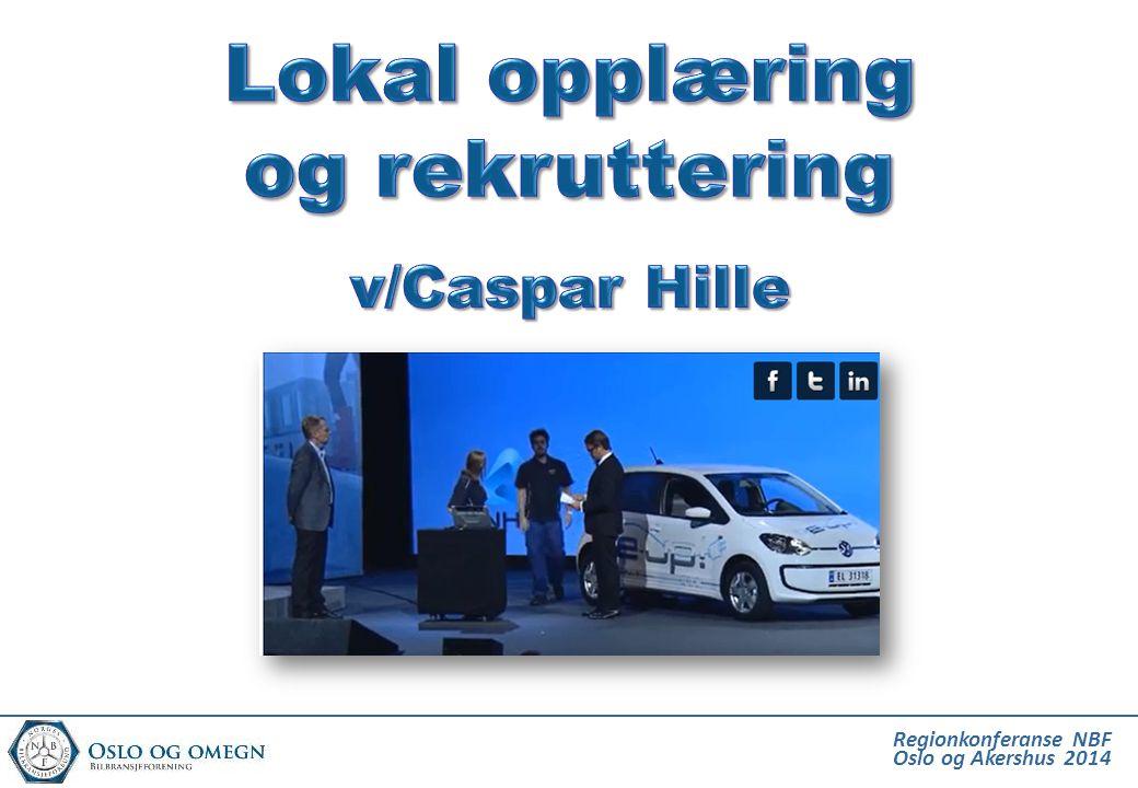 Rekruttering til bilfagene Stovner Vgs 15 elever Kuben Vgs 15 elever Etterstad Vgs 30 elever Totalt 60 elever