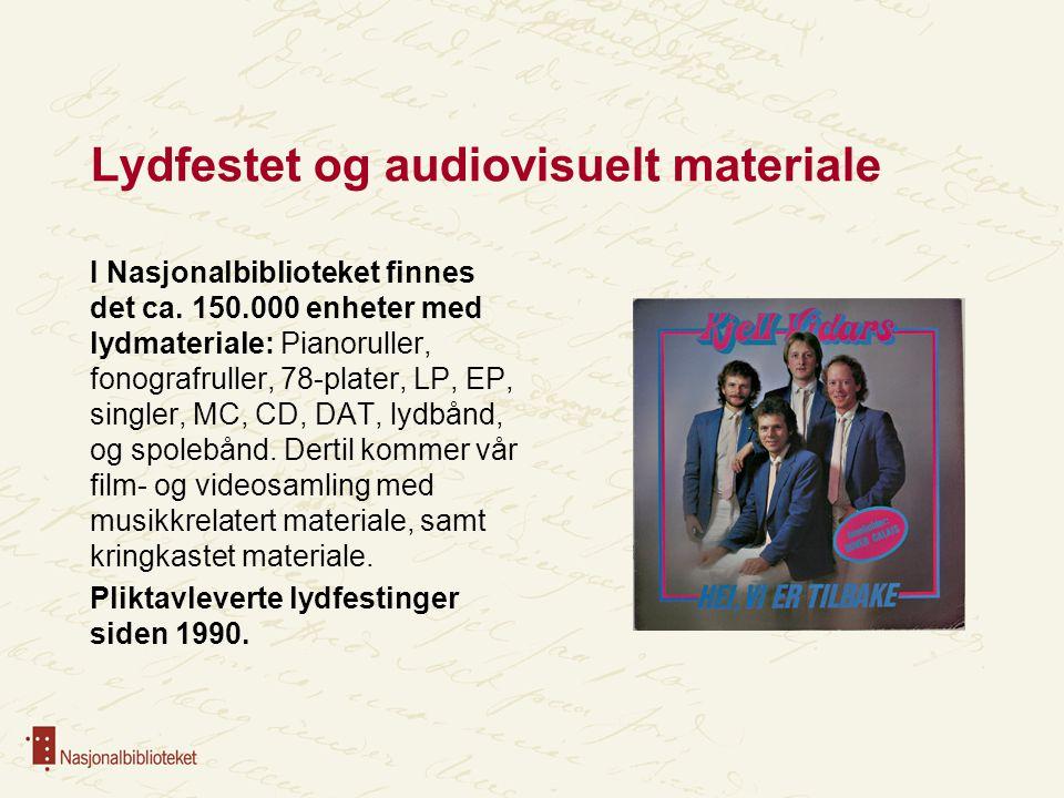 Samarbeidspartnere Overordnet rammeavtale inngått i 2008 for å formalisere samarbeidet med Det nasjonale opplevelsessenteret for pop og rock (Rockheim).