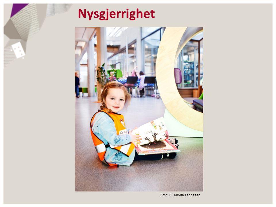 Nysgjerrighet Foto: Elisabeth Tønnesen
