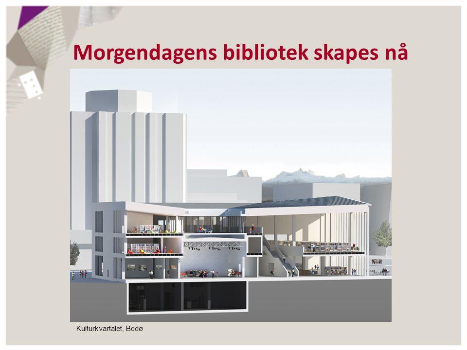 Morgendagens bibliotek skapes nå Kulturkvartalet, Bodø