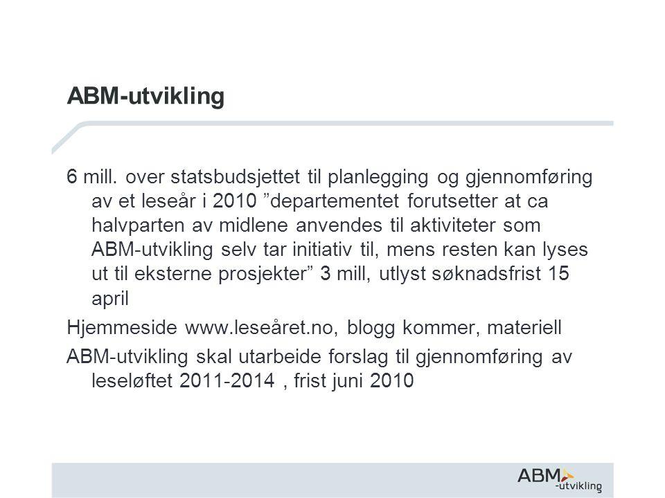 ABM-utvikling 6 mill.