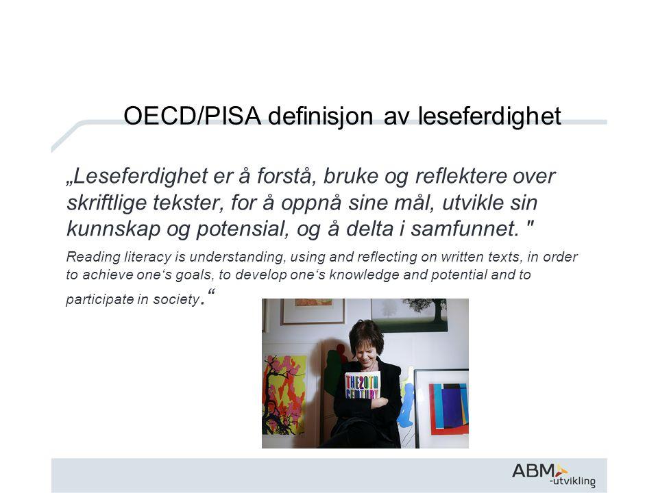 Norge leser Et nasjonalt mål om et lesende folk er en fantastisk mulighet- bruk den !!
