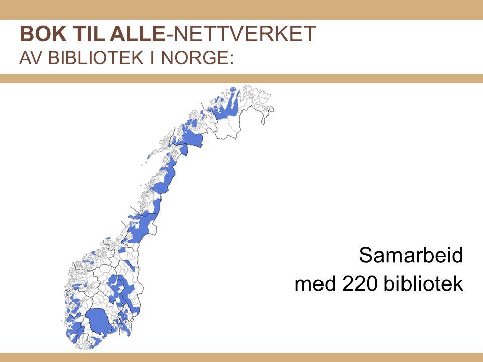 KULTURDEPARTEMENTETS FØRINGER FOR LESEÅRET (brev av 22.12.2009 til ABM-utvikling): LESER SØKER BOK