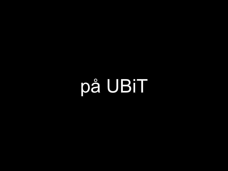 på UBiT