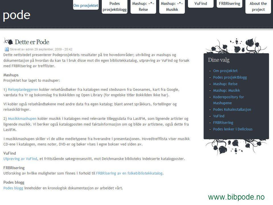 www.bibpode.no/blogg