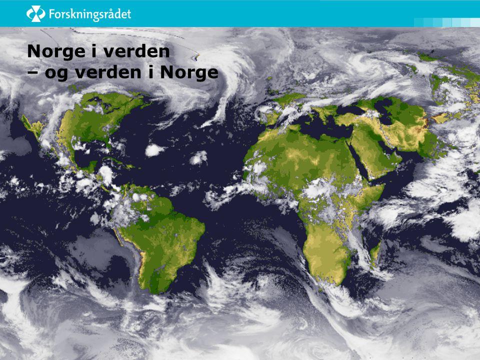 Norge i verden – og verden i Norge