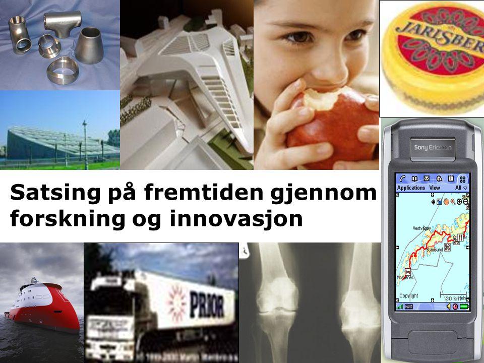 Satsing på fremtiden gjennom forskning og innovasjon