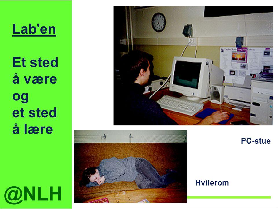 @NLH Institutt for tekniske fag Lab'en Et sted å være og et sted å lære PC-stue Hvilerom