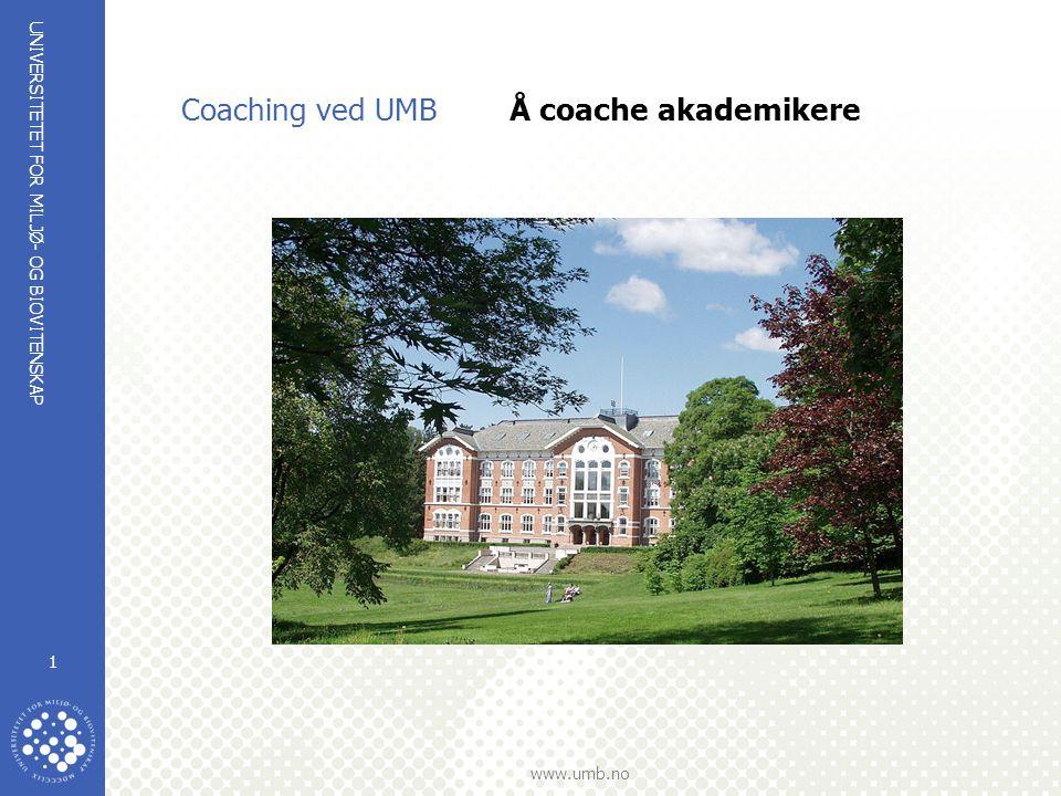 UNIVERSITETET FOR MILJØ- OG BIOVITENSKAP www.umb.no 22 UMBs personal- og organisasjonsavdeling planlegger en satsing på rekruttering og kompetanse (Kompetanse = egenskaper som kommer til uttrykk i suksessfull atferd) Utviklingskraften ligger i menneskene UMB skal være kjent for sitt sterke faglige miljø og ha - Lærere som er gode til å undervise og veilede - Fremragende forskere - Administrative og tekniske ansatte som er i tet på sine områder - Autentiske ledere som takler utfordringene i akademiske miljø