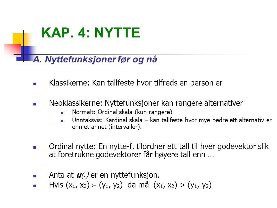 KAP.4: NYTTE A.