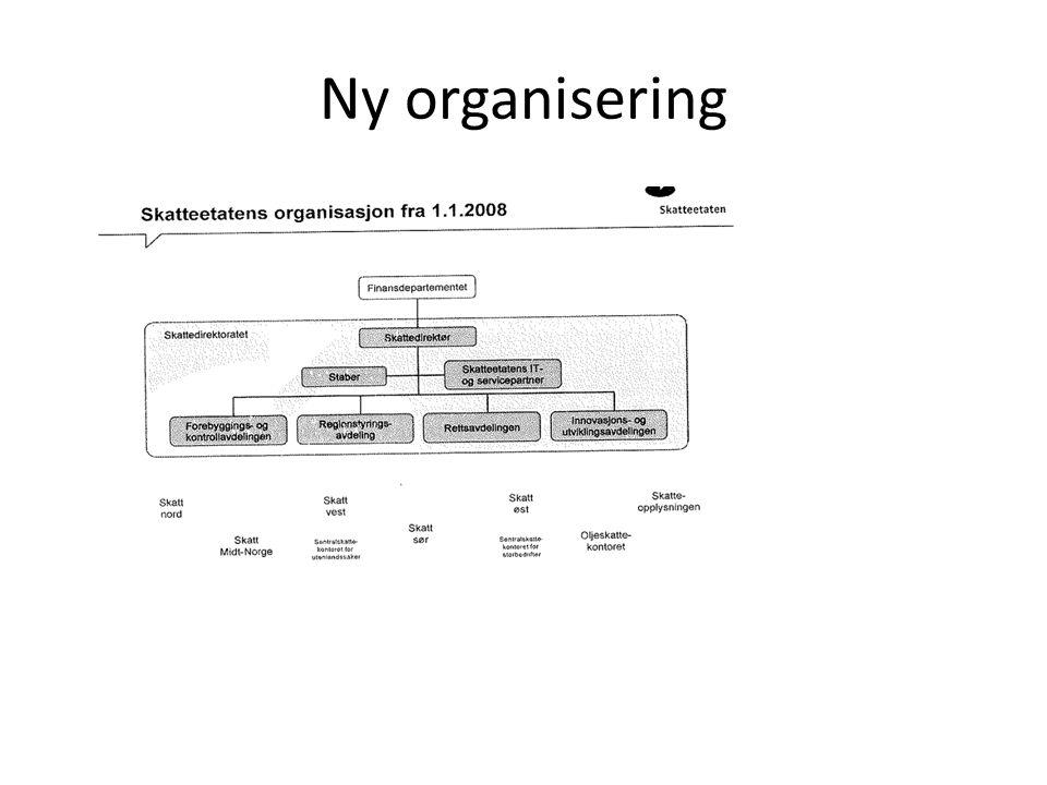 Ny organisering