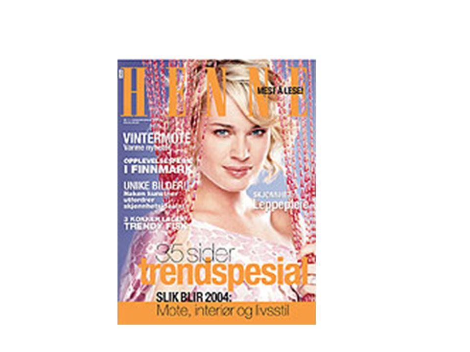 Henne Når vi gjennomfører spørreundersøkelser blant våre lesere, sier de at de gjerne ser helt vanlige damer på forsiden av bladet.