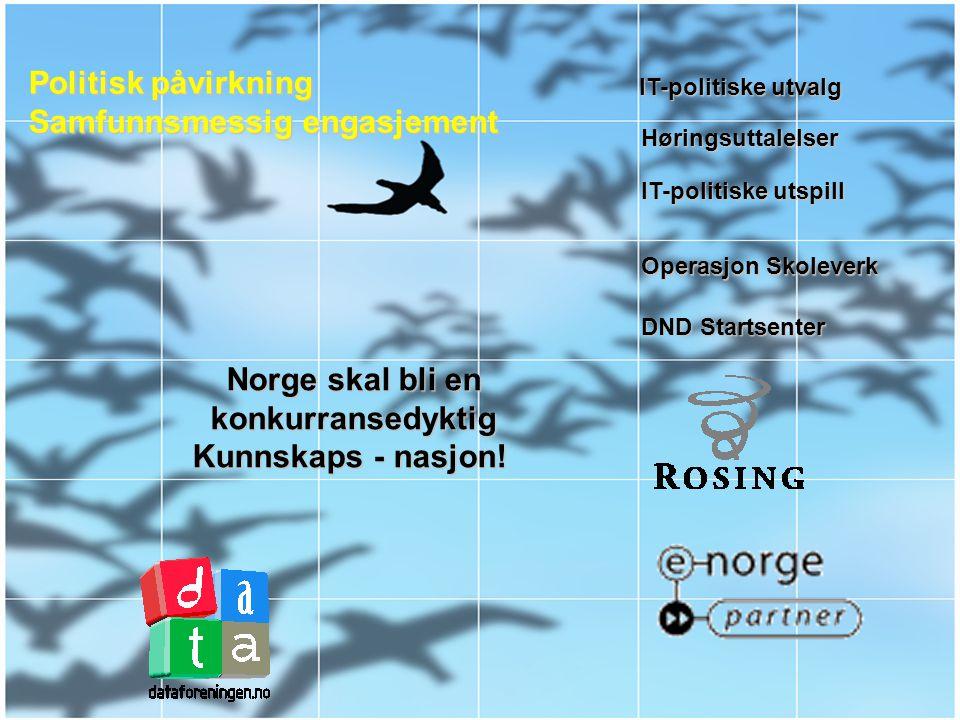 Den Norske Dataforening Samfunnspåvirkning