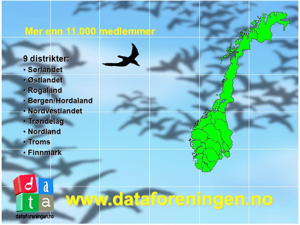 Den Norske Dataforening Du finner oss i hele Norge!