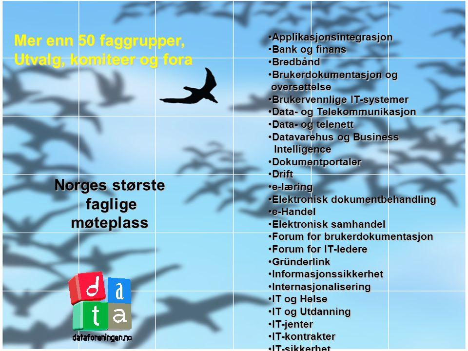 Den Norske Dataforening Norges største IT-nettverk
