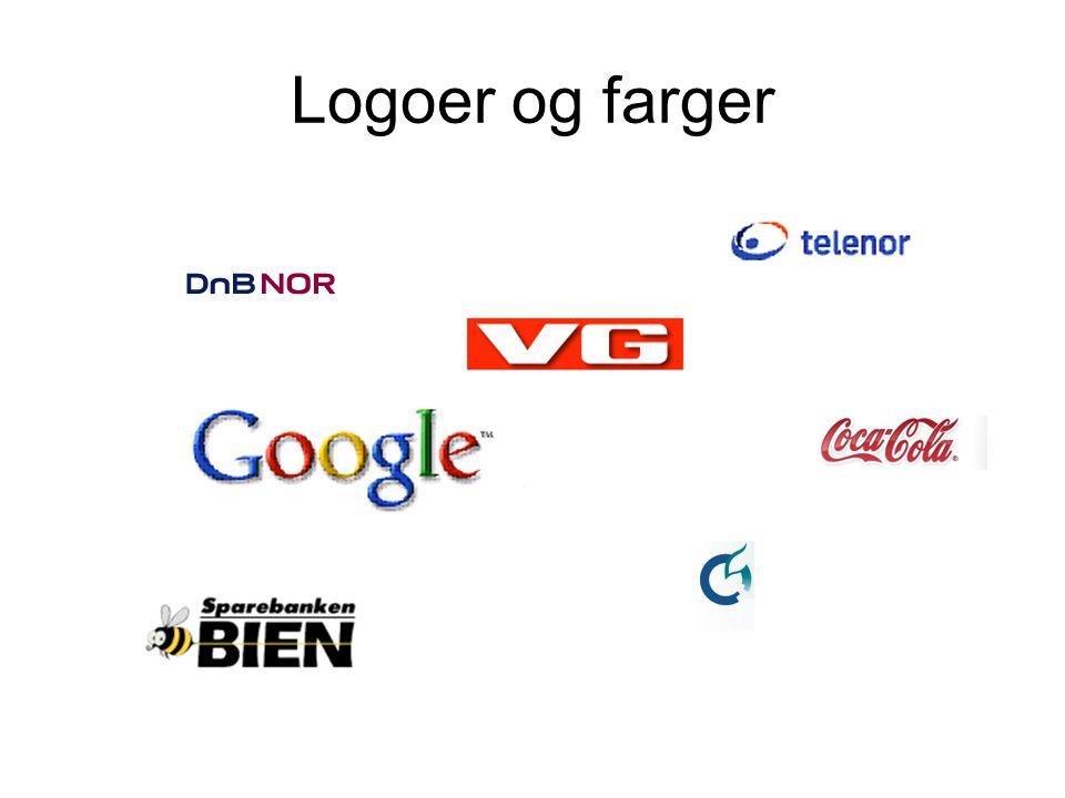 Logoer og farger