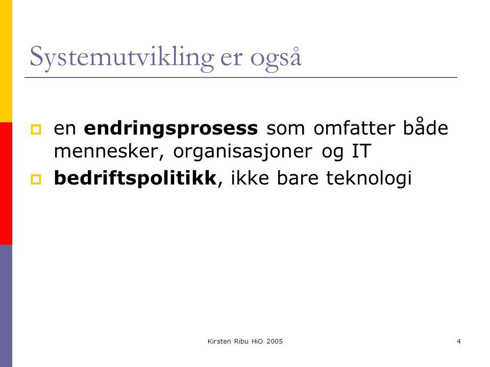 Kirsten Ribu HiO 200525 Neste gang  Mandag kl.1210 i Aud.
