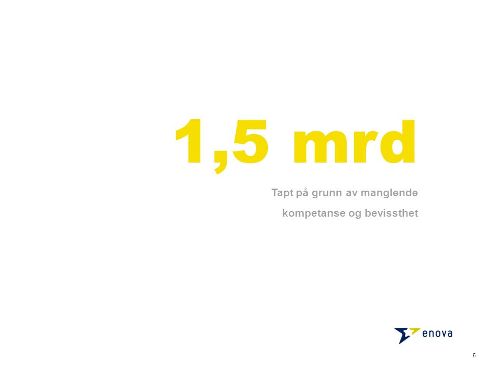 6 ….for å løfte driftsmarginen med 1,5 mrd NOK må omsetning økes med 26 mrd NOK