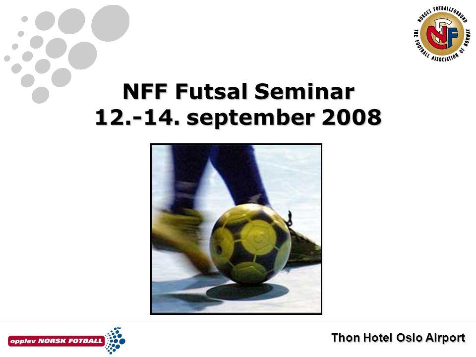 NFF Futsal Eliteserien 2008/09 Turneringsbestemmelser og overgangsreglement Thor Grønnerud og Lars Stensby Norges Fotballforbund