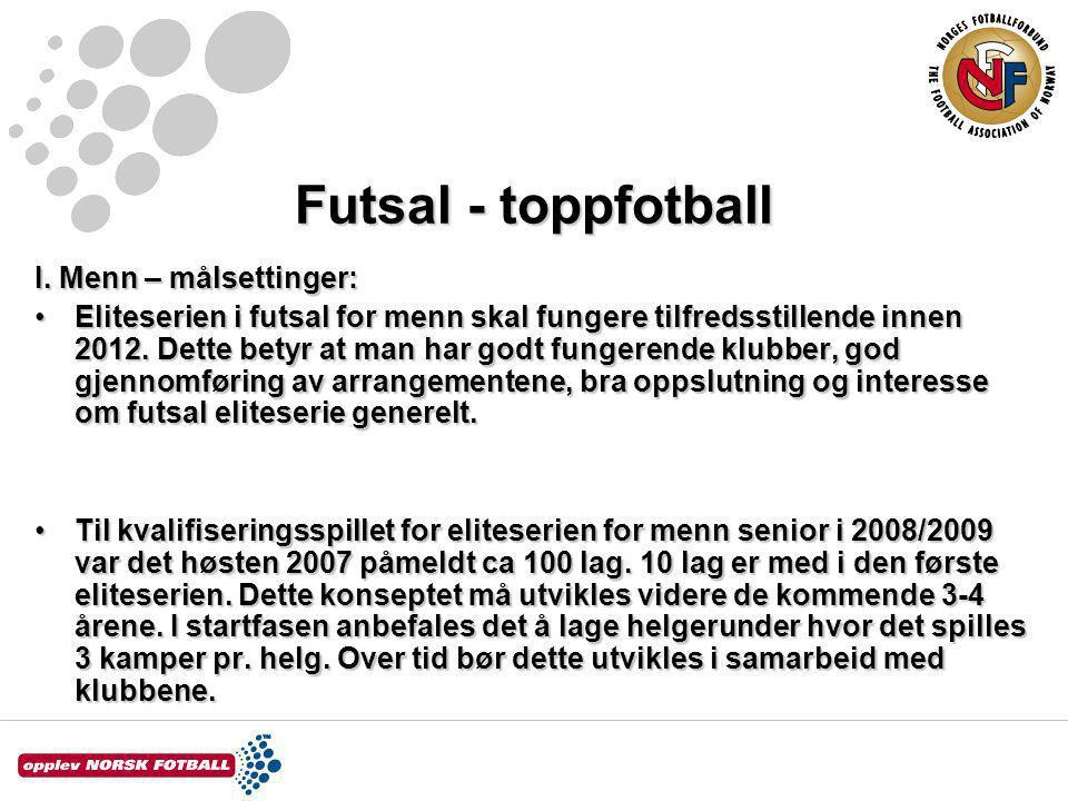 Futsal - toppfotball I.