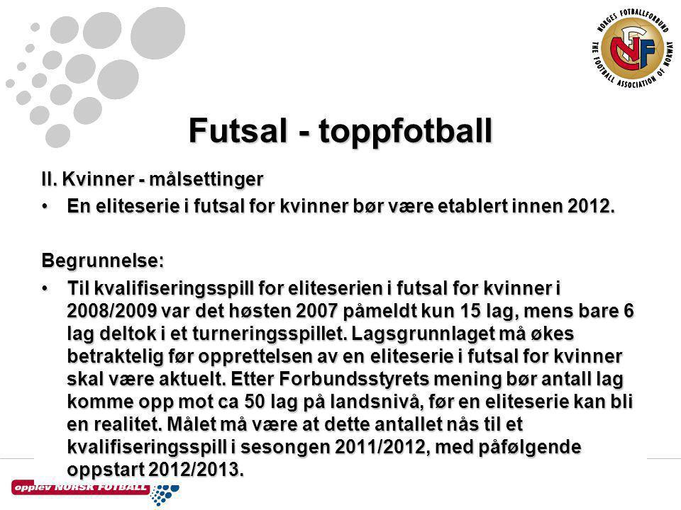Futsal - toppfotball II.