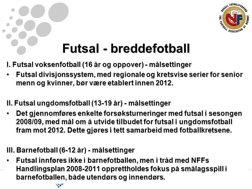 Futsal - breddefotball I.