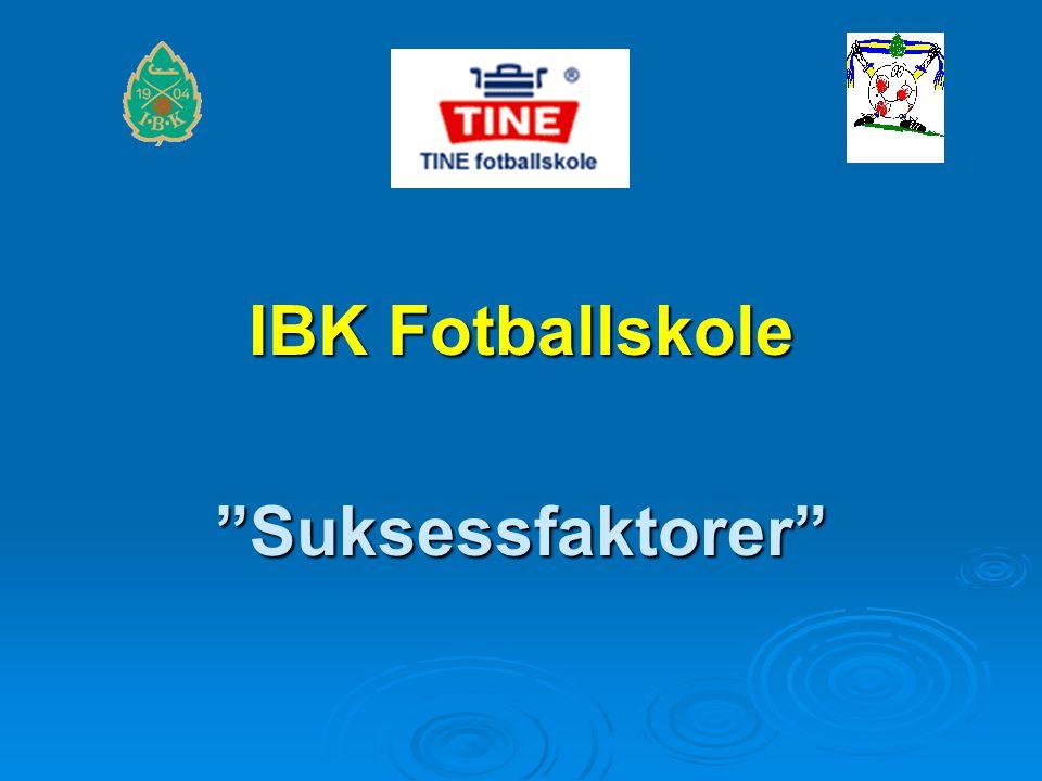 IBK Fotballskole Suksessfaktorer