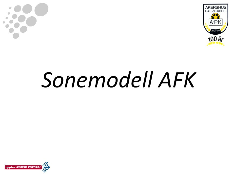 Sonemodell AFK