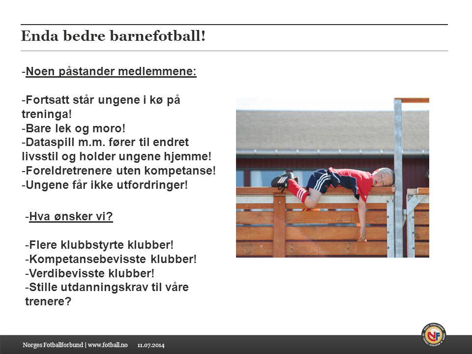 11.07.2014 Enda bedre barnefotball.