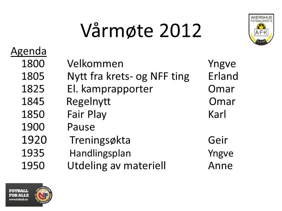 KRETSTING 2012 - DOMMERBIDRAG Skal lønne seg å ha dommere - 7ER FOTBALL FOR 13 ÅRSKLASSEN - Flytting av spillere mellom lag i 1.