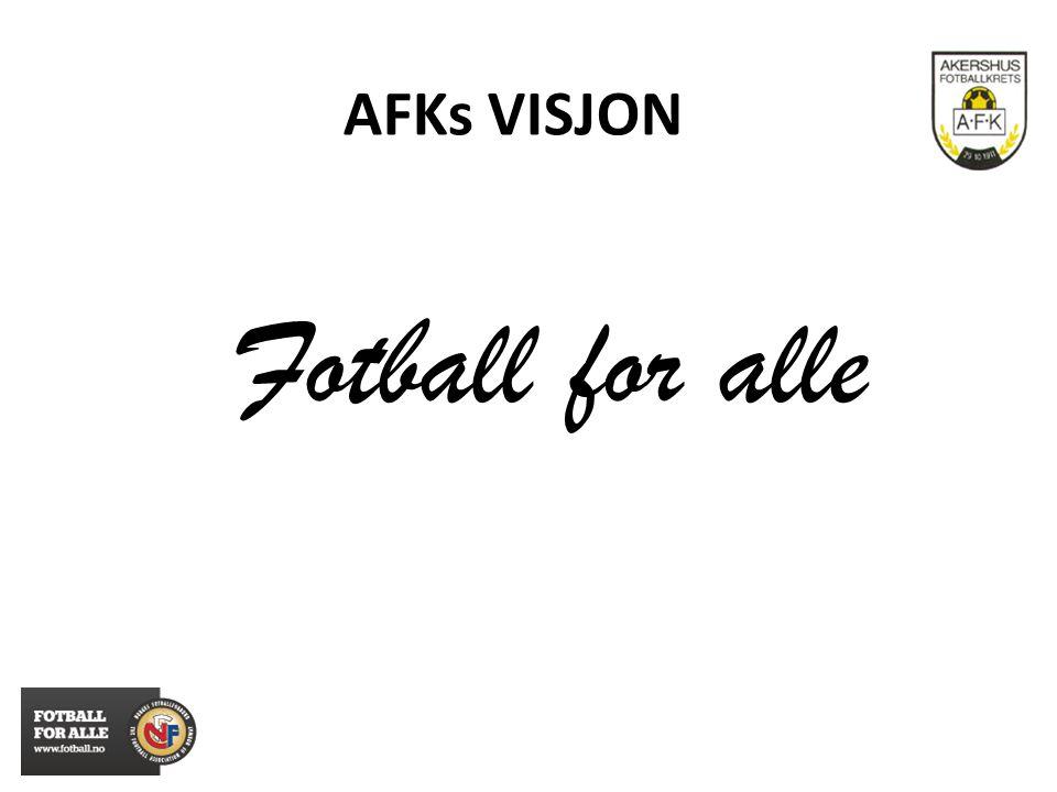 AFKs VISJON Fotball for alle