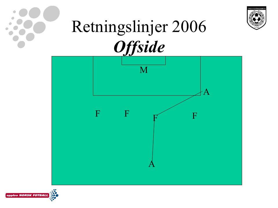 Retningslinjer 2006 Offside FF F F A A M